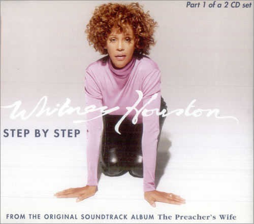 Whitney Houston Step By Step - Part 1 1996 European CD single 74321449332