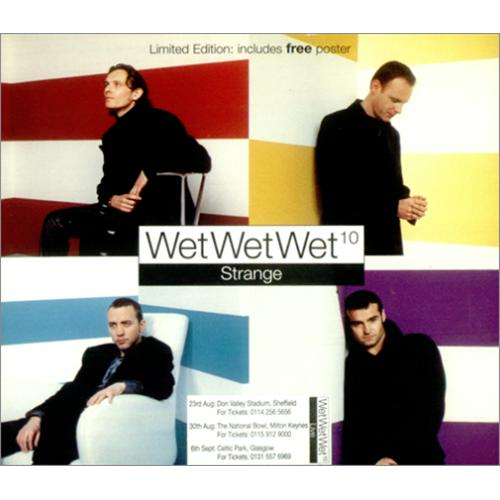 Wet Wet Wet Strange - Part 2 1997 UK CD single JWLDD30