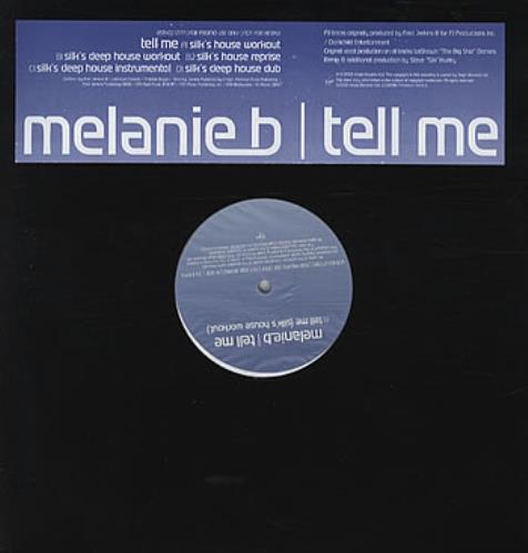 Melanie B Tell Me 2000 UK 12 vinyl VSTXDJ1777