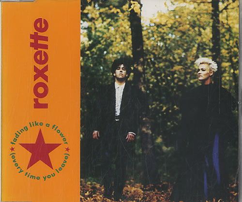 Roxette Fading Like A Flower 1991 Dutch CD single 1364042