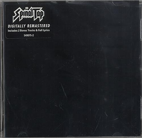 Spinal Tap Spinal Tap 2000 UK CD album 5490752
