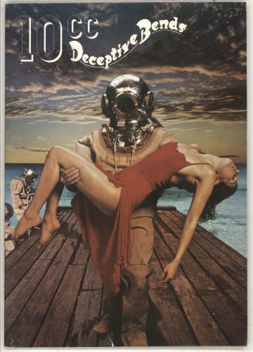 10cc Deceptive Bends 1977 UK tour programme TOUR PROGRAMME