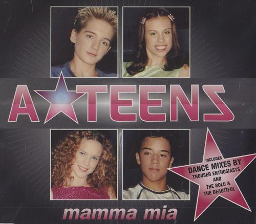 ATeens Mamma Mia 1999 UK CD single 5613442