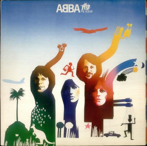 Abba ABBA The Album 1977 UK vinyl LP EPC86052