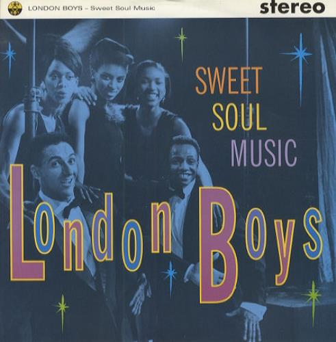 London Boys Sweet Soul Music 1991 UK 12 vinyl YZ590T