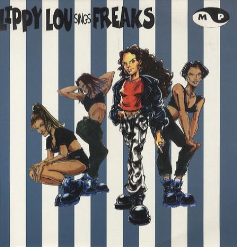 Lippy Lou Freaks 1995 UK 12 vinyl PROT109
