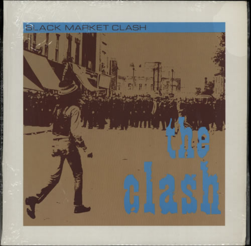 The Clash Black Market Clash 1980 Canadian vinyl LP 12EXP304