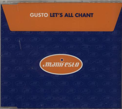 Gusto - Let's All Chant Single