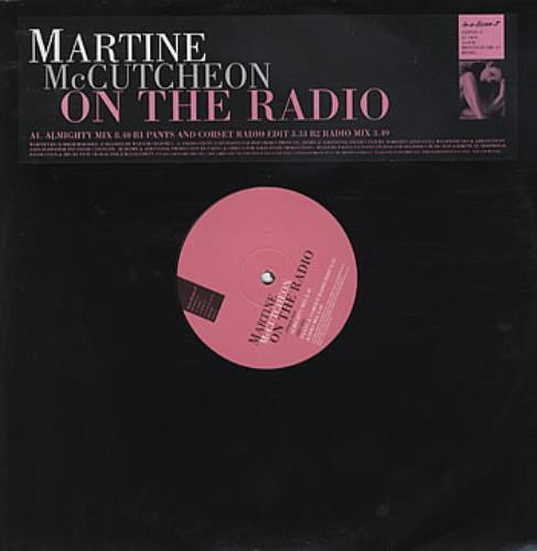 Martine McCutcheon On The Radio 2000 UK 12 vinyl SINTDJX21