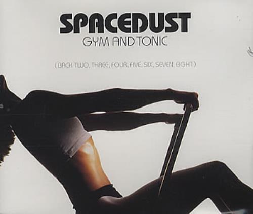 Spacedust Gym And Tonic 1998 UK CD single EW188CD
