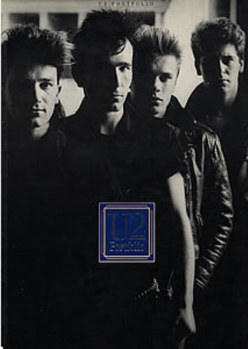 U2 Portfolio ~ The Official U2 Songbook 1985 UK book 0711907625