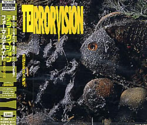Terrorvision Formaldehyde 1993 Japanese CD album TOCP7788