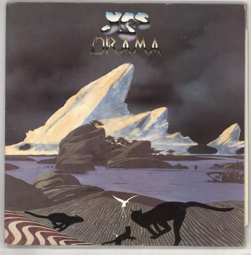 Yes Drama 1980 UK vinyl LP K50736