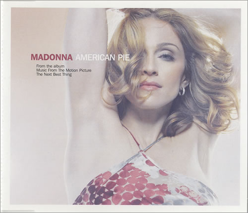Madonna American Pie 2000 UK CD single W519CD2