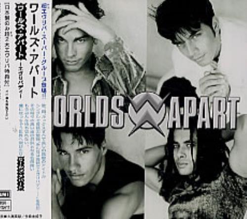 Worlds Apart Everybody 1996 Japanese CD album TOCP-8970