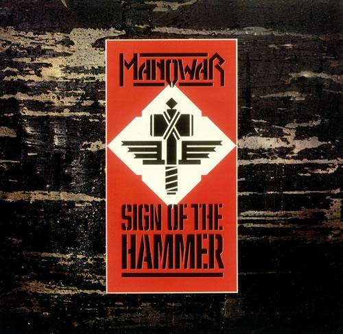 Manowar - Sign Of The Hammer Single