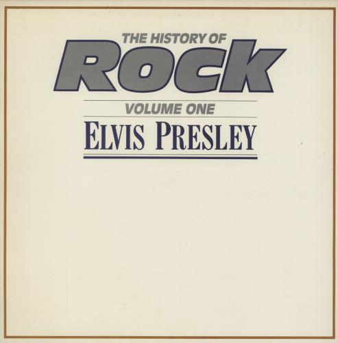 The History Of Rock The History Of Rock Volume One 1981 UK vinyl LP HRL001
