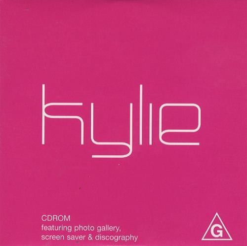 Kylie Minogue Kylie CDRom 2001 Australian CDROM KYLIEROM1