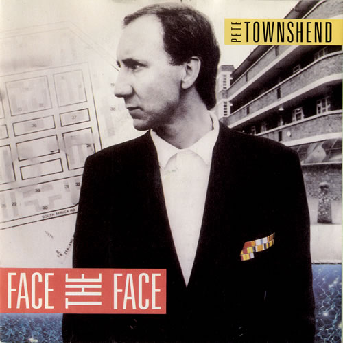 Pete Townshend Face The Face 1985 UK 7 vinyl U8859