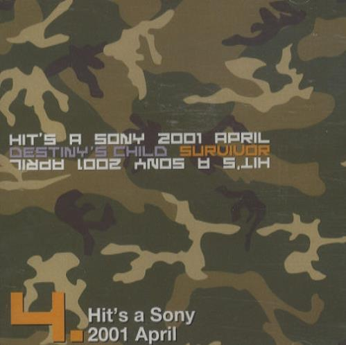 Destiny's Child - Hit's A Sony 2001 April