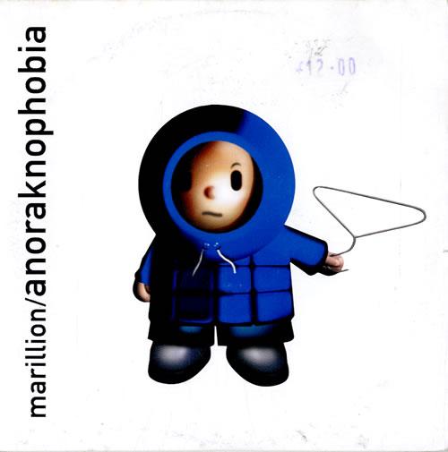 Marillion Anoraknophobia 2001 UK CD album CDLRL046