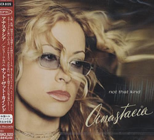 Anastacia Not That Kind 2000 Japanese CD album ESCA8129