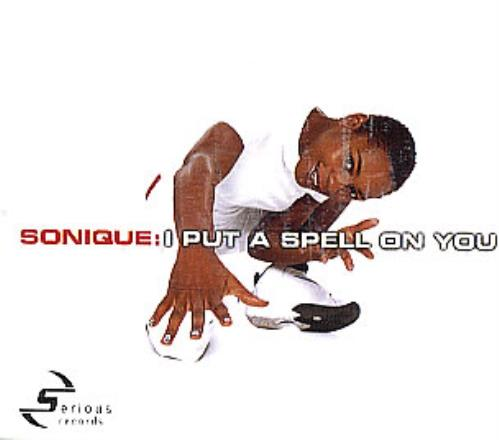 Sonique I Put A Spell On You 2000 European CD single MCSTD40245