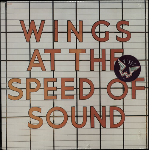 McCartney, Paul - At The Speed Of Sound - Stickered Shrink