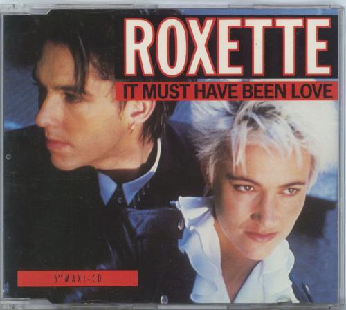 Roxette It Must Have Been Love 1990 German CD single 5601363802