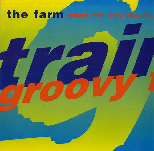 The Farm Groovy Train 1990 UK 12\