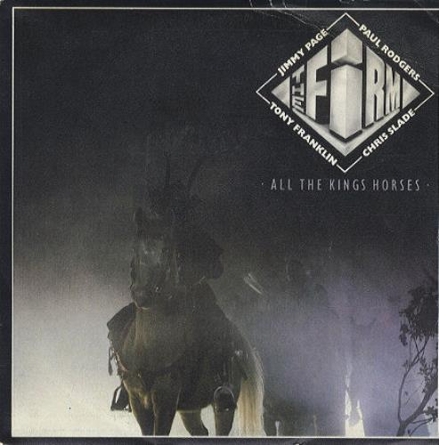 Firm, The (Rock) - All The Kings Horses LP