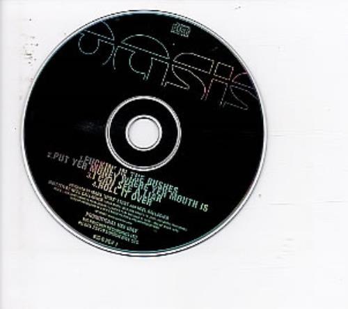 Oasis Fuckin In The Bushes 2000 UK CD single BIGBREV1