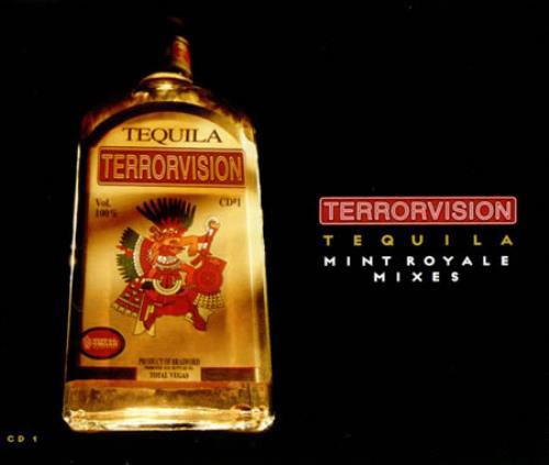 Terrorvision Tequila 1998 UK CD single CDEGASS16