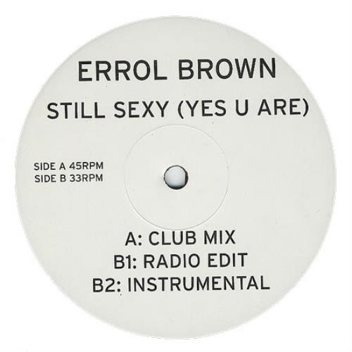 "Image of Errol Brown Still Sexy (Yes You Are) 2001 UK 12"" vinyl ERROL03"