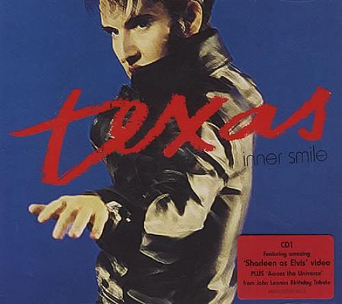 Texas Inner Smile 2000 UK CD single MERCD531
