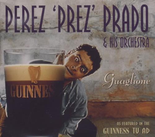 Perez Prado Guaglione 1994 UK CD single 74321250192