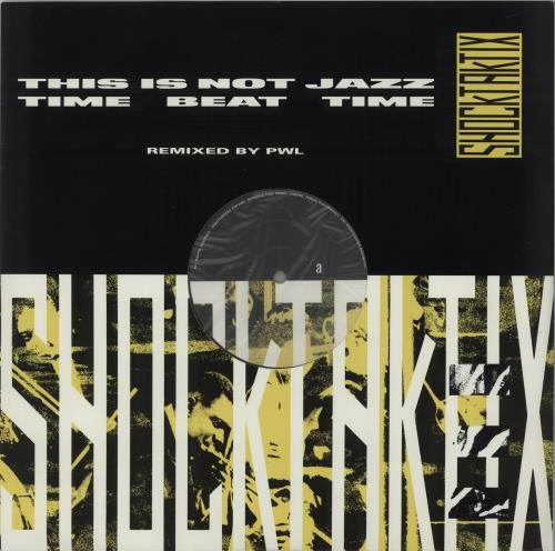 "Image of Shock Taktix This Is Not Jazz 1988 UK 12"" vinyl PT41878"