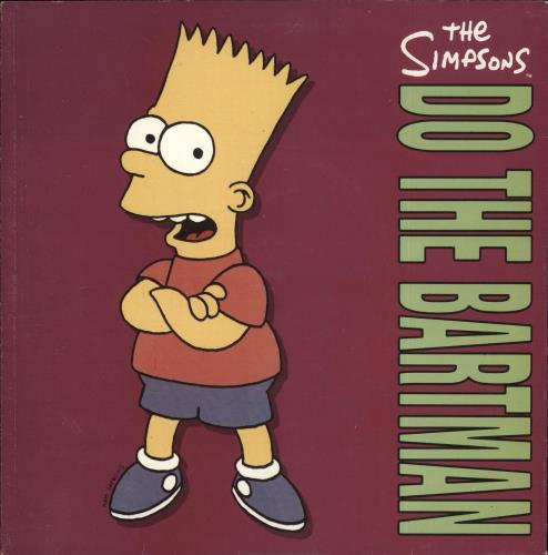 The Simpsons Do The Bartman 1991 UK 7\