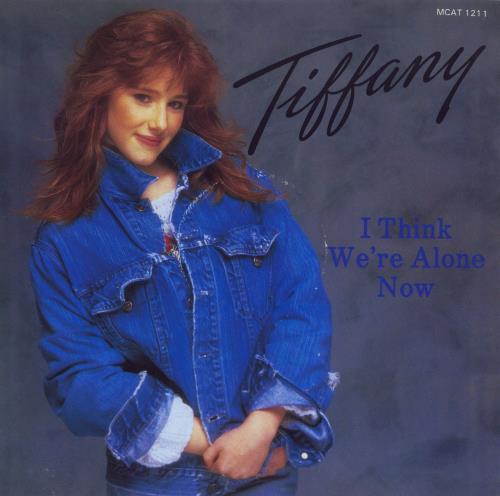 Tiffany I Think Were Alone Now 1987 UK 12 vinyl MCAT1211