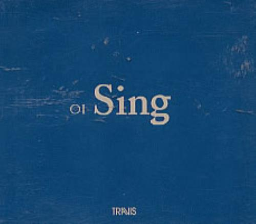 Travis (90s) Sing 2001 Mexican CD single PRCD98338