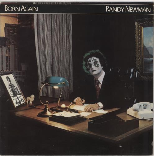 Randy Newman Born Again 1979 UK vinyl LP K56663