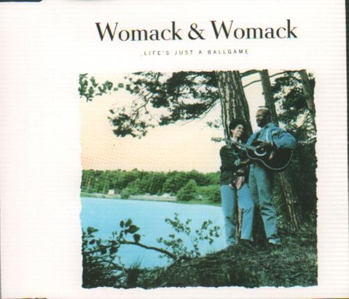 Womack & Womack Life's Just A Ballgame 1988 Dutch CD single 661912 lowest price