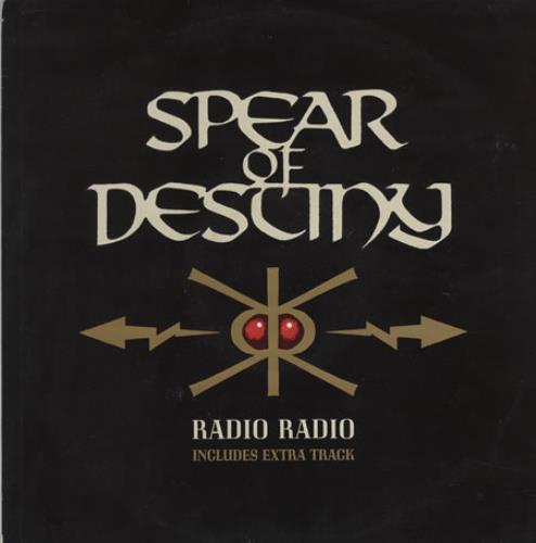 Spear Of Destiny Radio Radio 1988 UK 12 vinyl VST1144