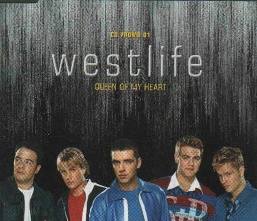 Click to view product details and reviews for Westlife Queen Of My Heart 2001 Uk Cd Single Myheart01.