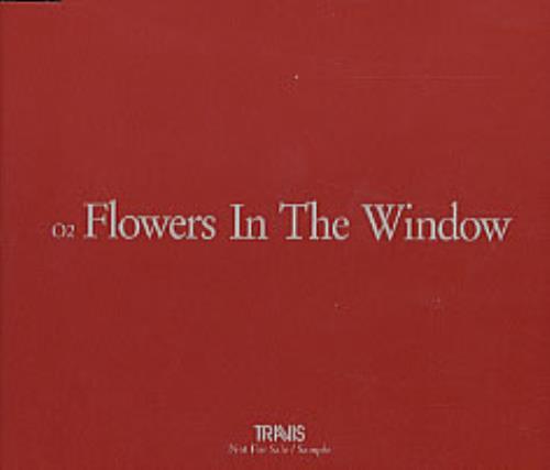 Travis (90s) Flowers In The Window 2001 Japanese CD single QDCA 93381