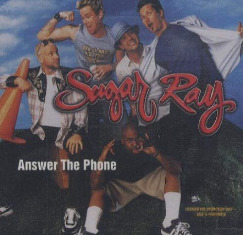 Sugar Ray Answer The Phone 2001 USA CD single PRCD300658