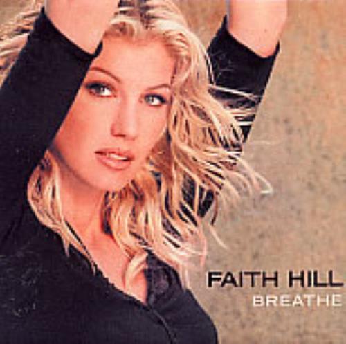 Faith Hill Breathe 2001 USA memorabilia PROMO HOT PLATE