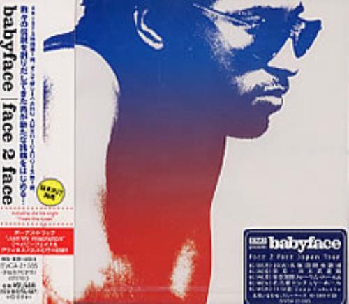 Babyface Face 2 Face 2001 Japanese CD album BVCA21085