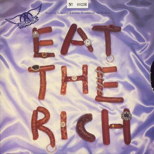 Aerosmith - Eat The Rich - Gold Vinyl