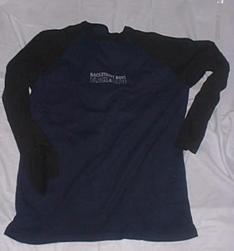 Image of Backstreet Boys Black & Blue 2000 UK t shirt PROMO T SHIRT